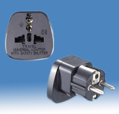 Europe/GS Plug Adapter <br>SE-DYS-9