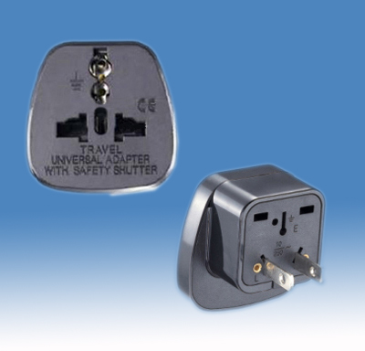 2 Flat Pin Plug Adapter <br>SE-DYS-6