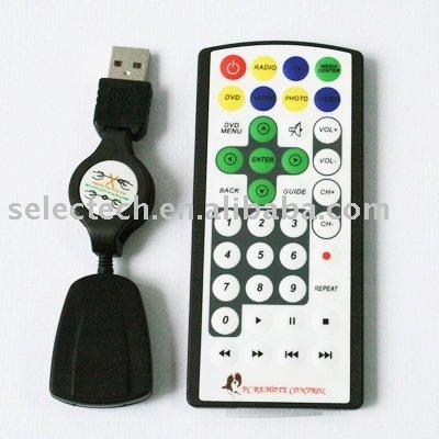 USB PC Remote Control for Media Center with Software