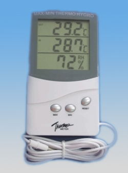 Indoor Thermometer with Hygrometer(TA318)