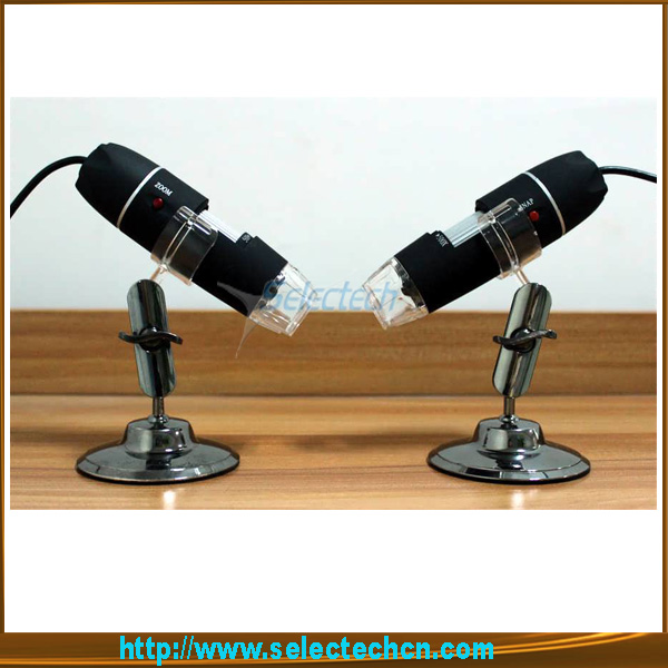Design 2.0M 500x digital microscope and 8 LED lights SE-DM-500X