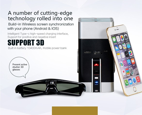 Multimedia Full HD 1080p video LED projector Android wifi smartphone mini 3D projector Home Theater